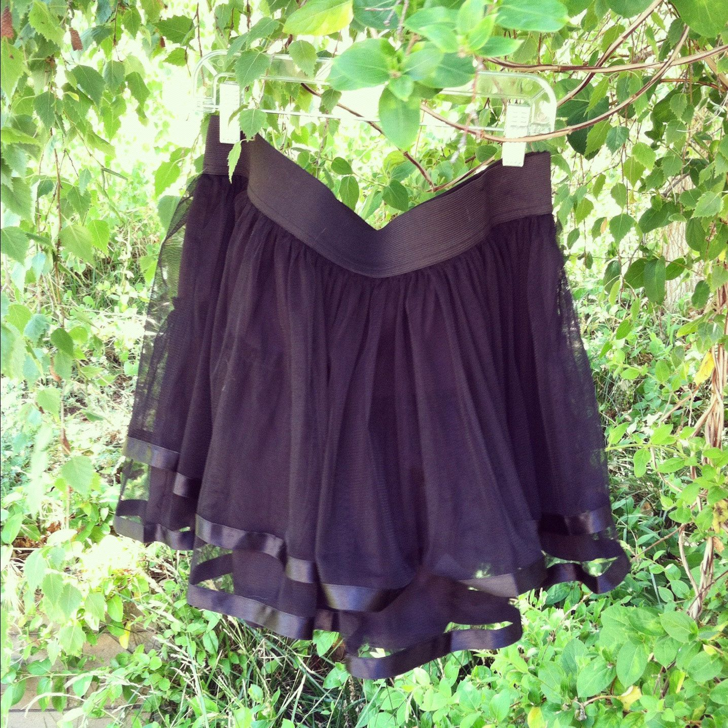 67a01f4ced Black Tulle Skirt with Satin Trim For mommy? | Shelby's 1st Birthday ...