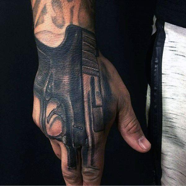 75 Finger Tattoos For Men: 75 Finger Tattoos For Men - Manly Design Ideas