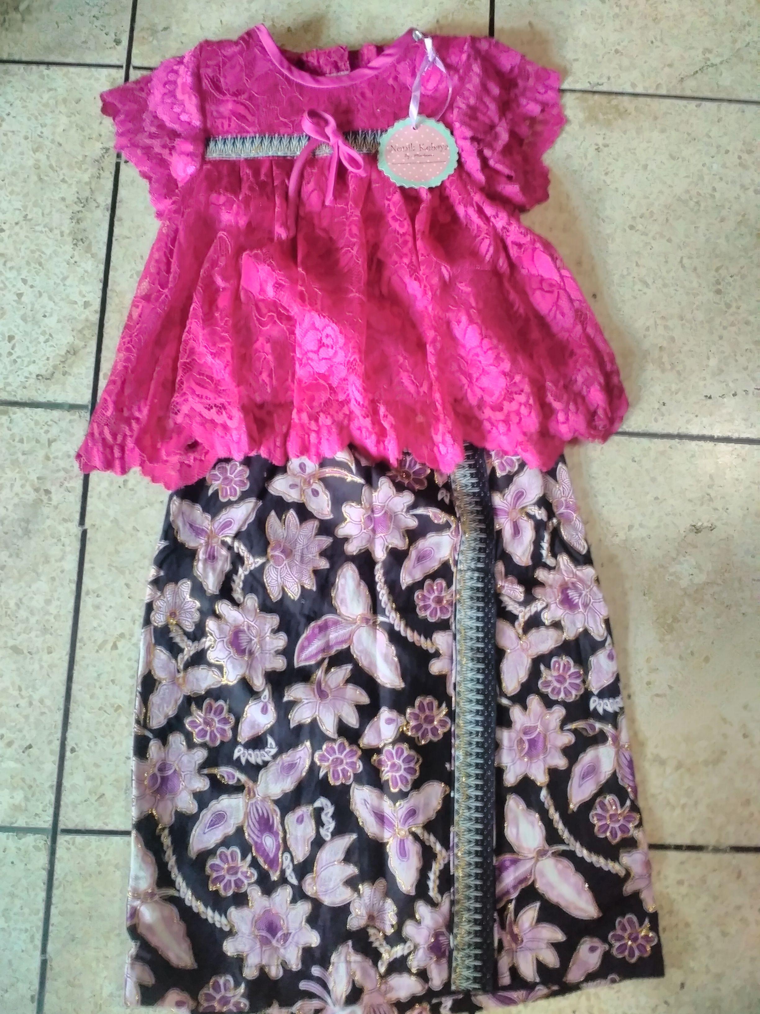 Rok batik prodo Harga 90 000 Call WA SMS 0856 9565 7732 Kebaya anak babydoll Pinterest