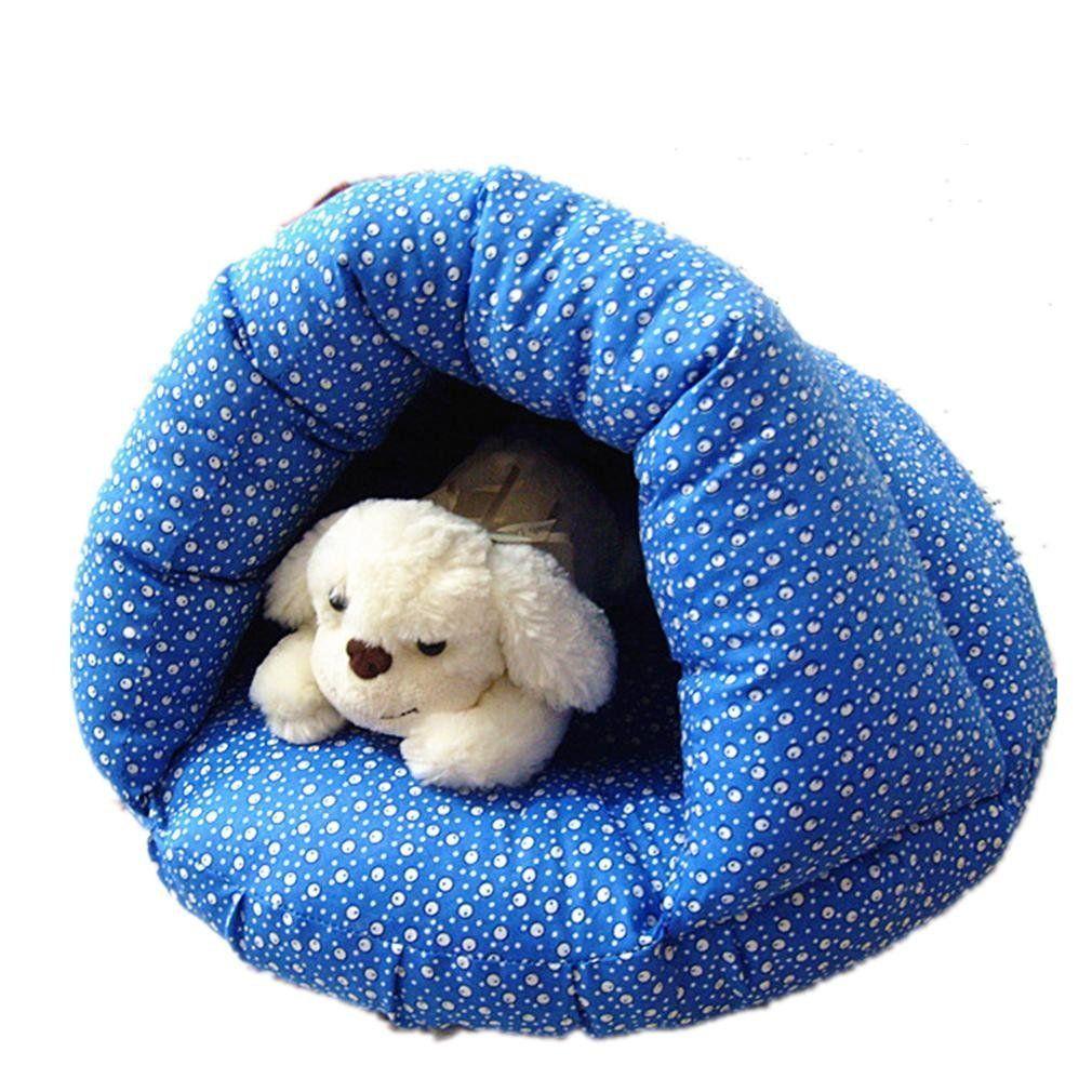 HamburgType UltraWarm Nest Pet Sleeping Bags, Dog Kennel