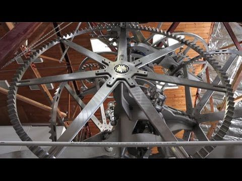The Long Now Foundation S 10 000 Year Clock Clock The Long Now Winder