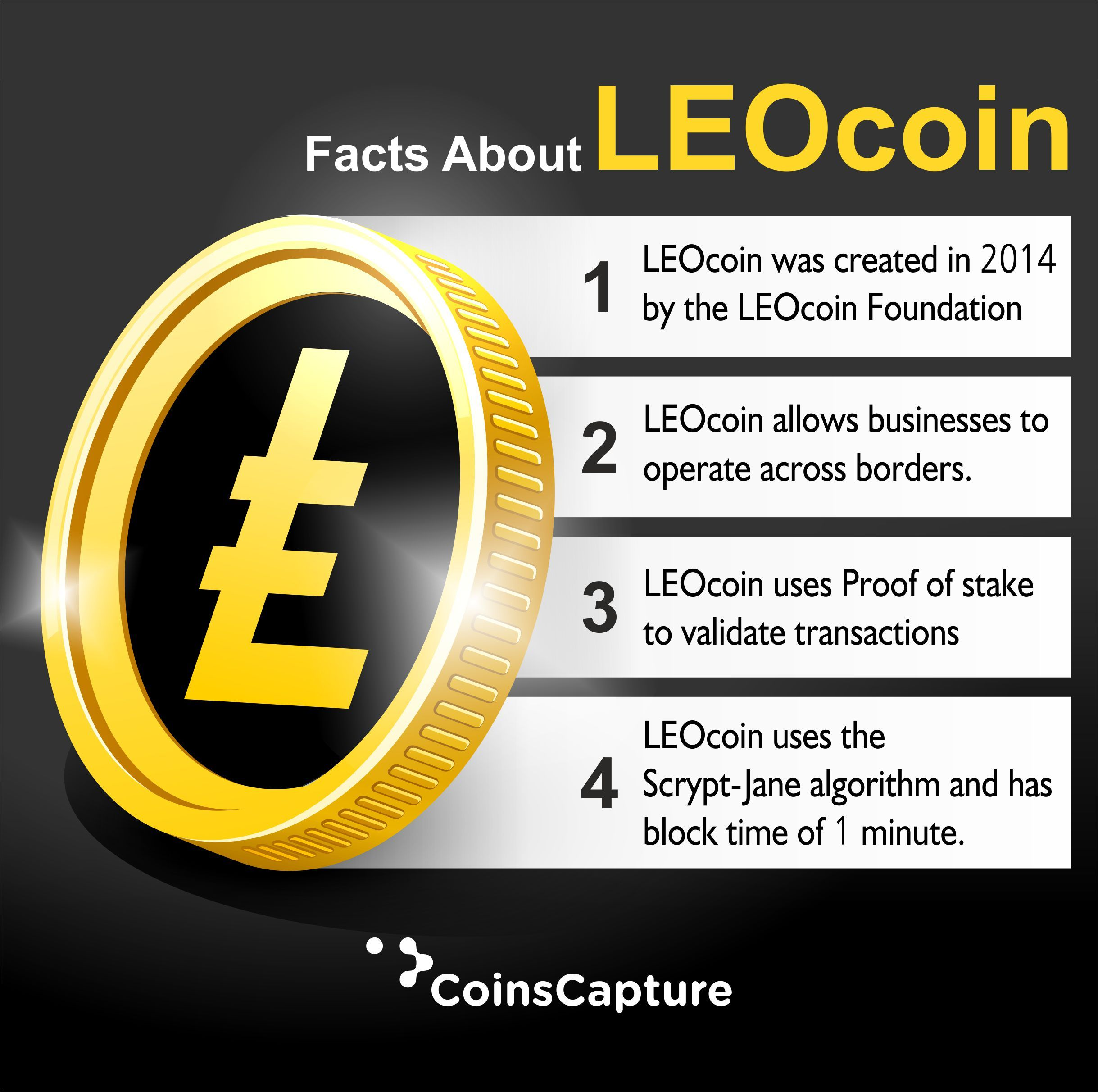 what is leocoin coin