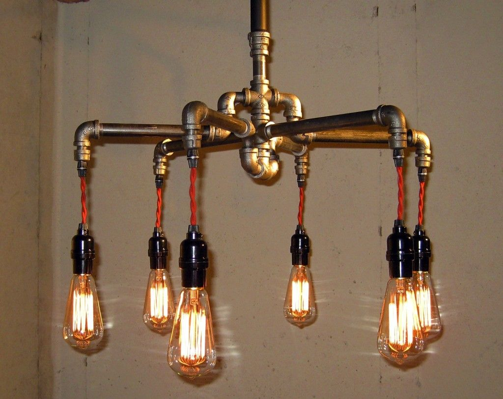 ceiling light lighting industrial lamp ceilings pendant chandelier steampunk fixture vintage