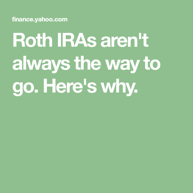 what is a roth ira yahoo answers