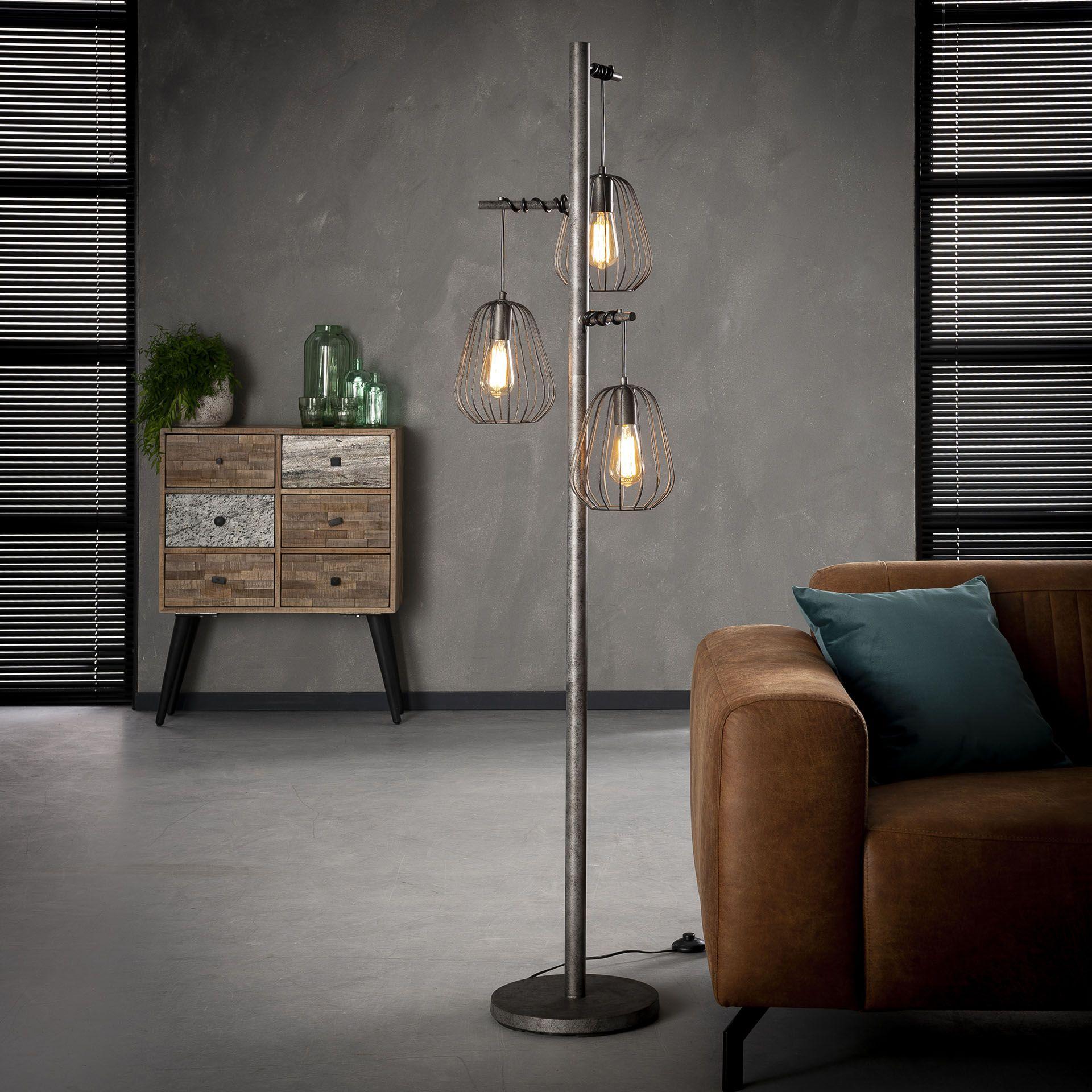 Lampadaire Salon 3 Lampes Lamphun Infos Et Dimensions Largeur 50 Cm Profondeur 173 Cm Hauteur 5 Lampadaire Salon Lampadaire Design Salon Lampadaire
