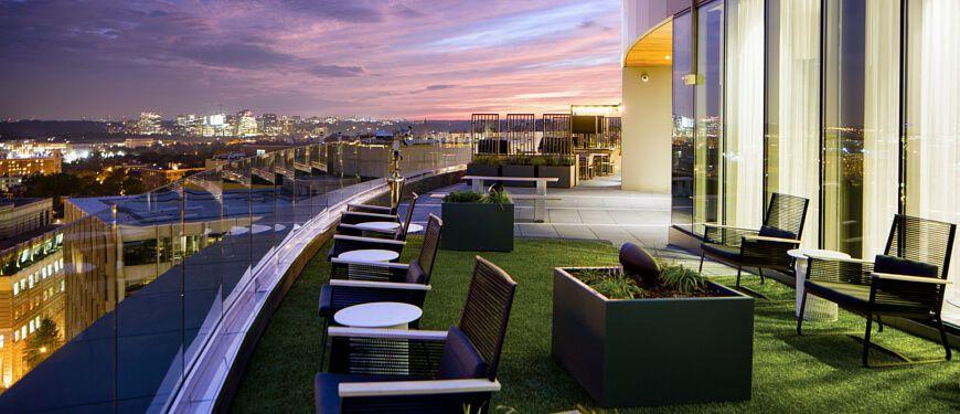 Image result for the hepburn dc rooftop amenities