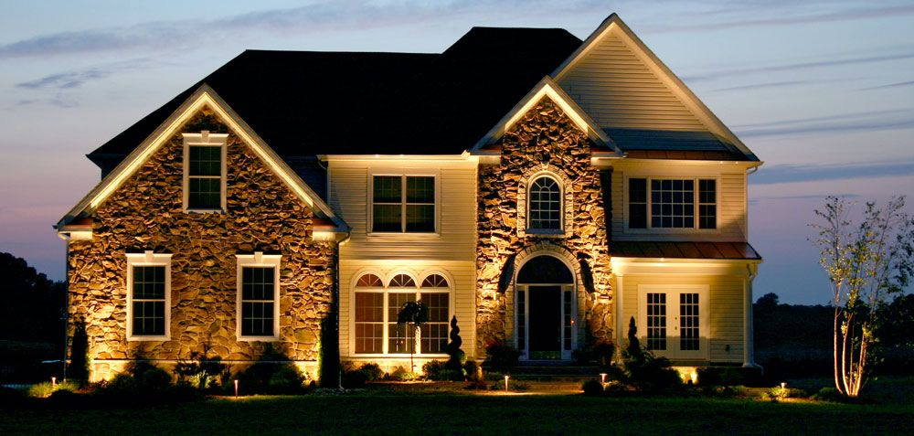 Outdoor Home Lighting Delectable New Home Builder In Greenville Sc Httpwwwmidlinbuildersllc