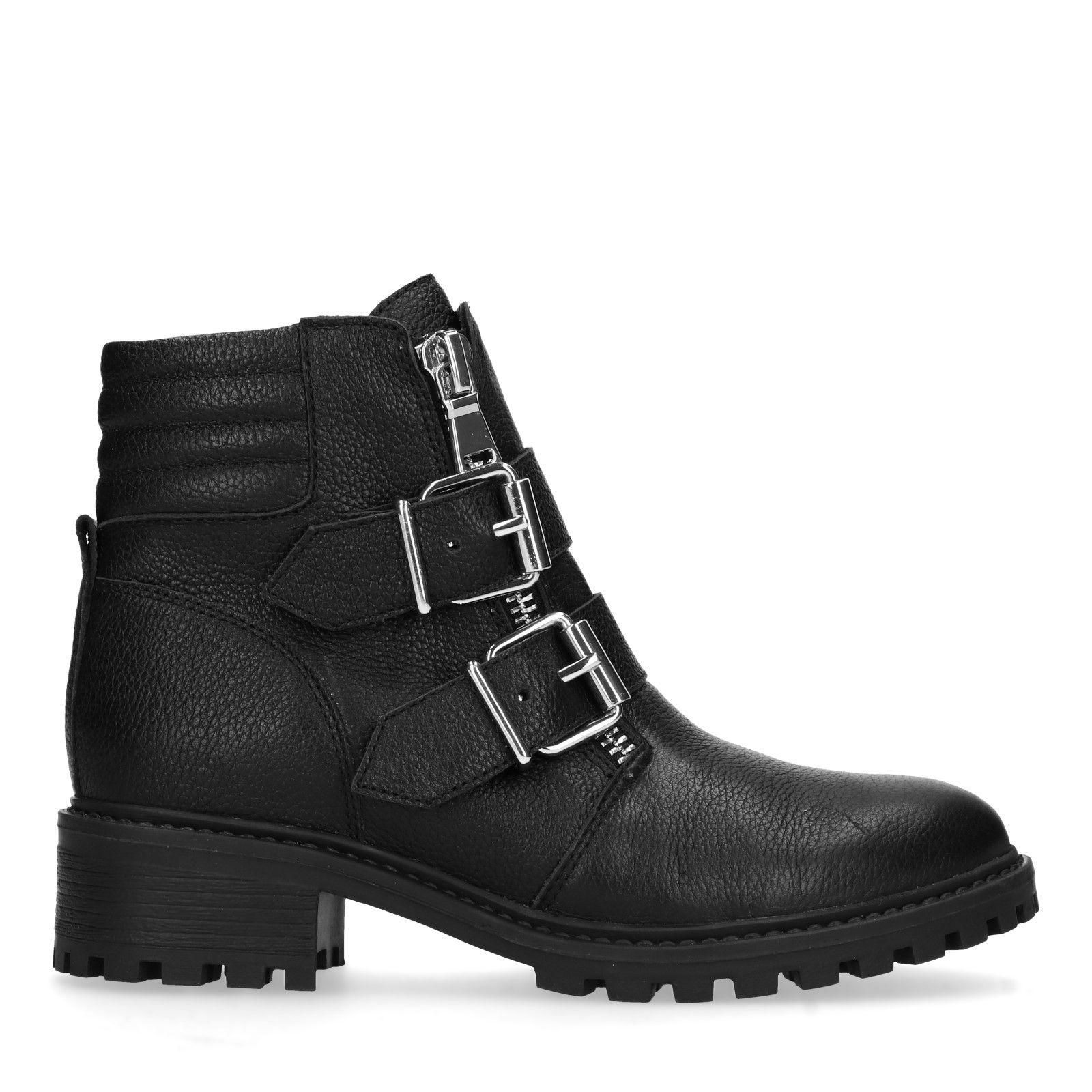 Damenschuhe Boots – Biker Sacha Schwarze VUzpMqS