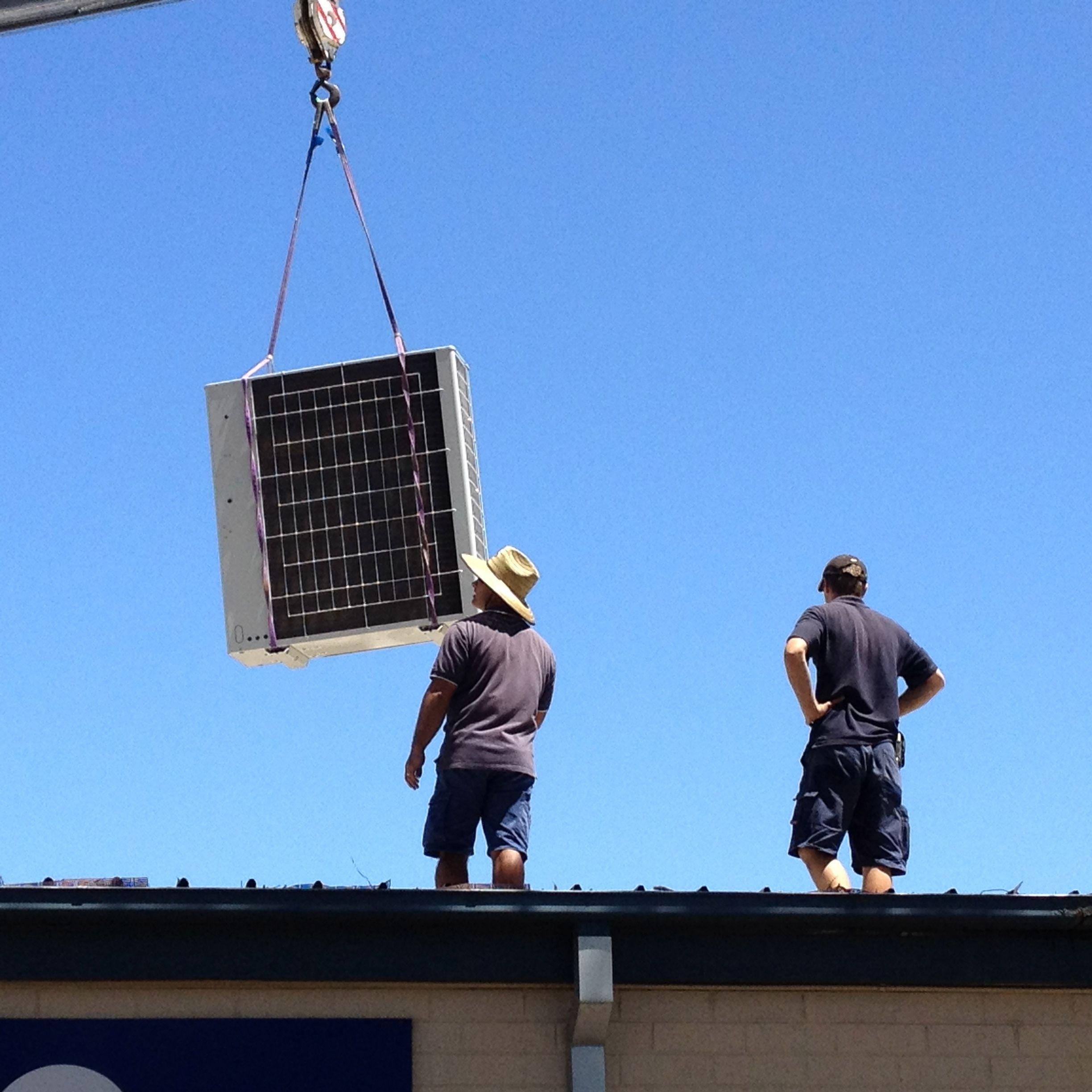 We use CraneWorx to remove old tired systems