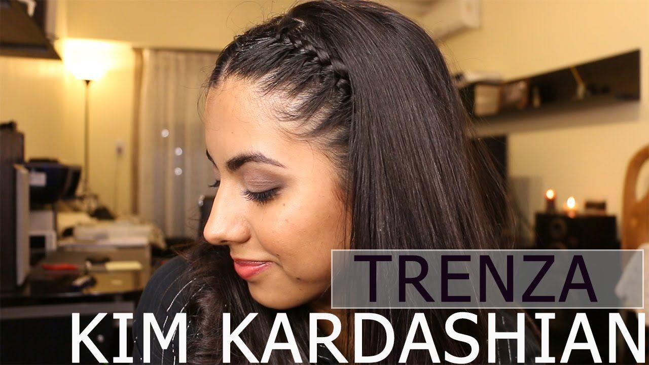 Inspiracion Peinado Kim Kardashian Trenzas Cosidas Bolivia