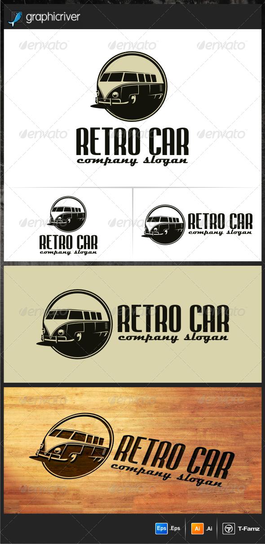 Retro Car Logo Templates | Logo templates, Car logos and Template