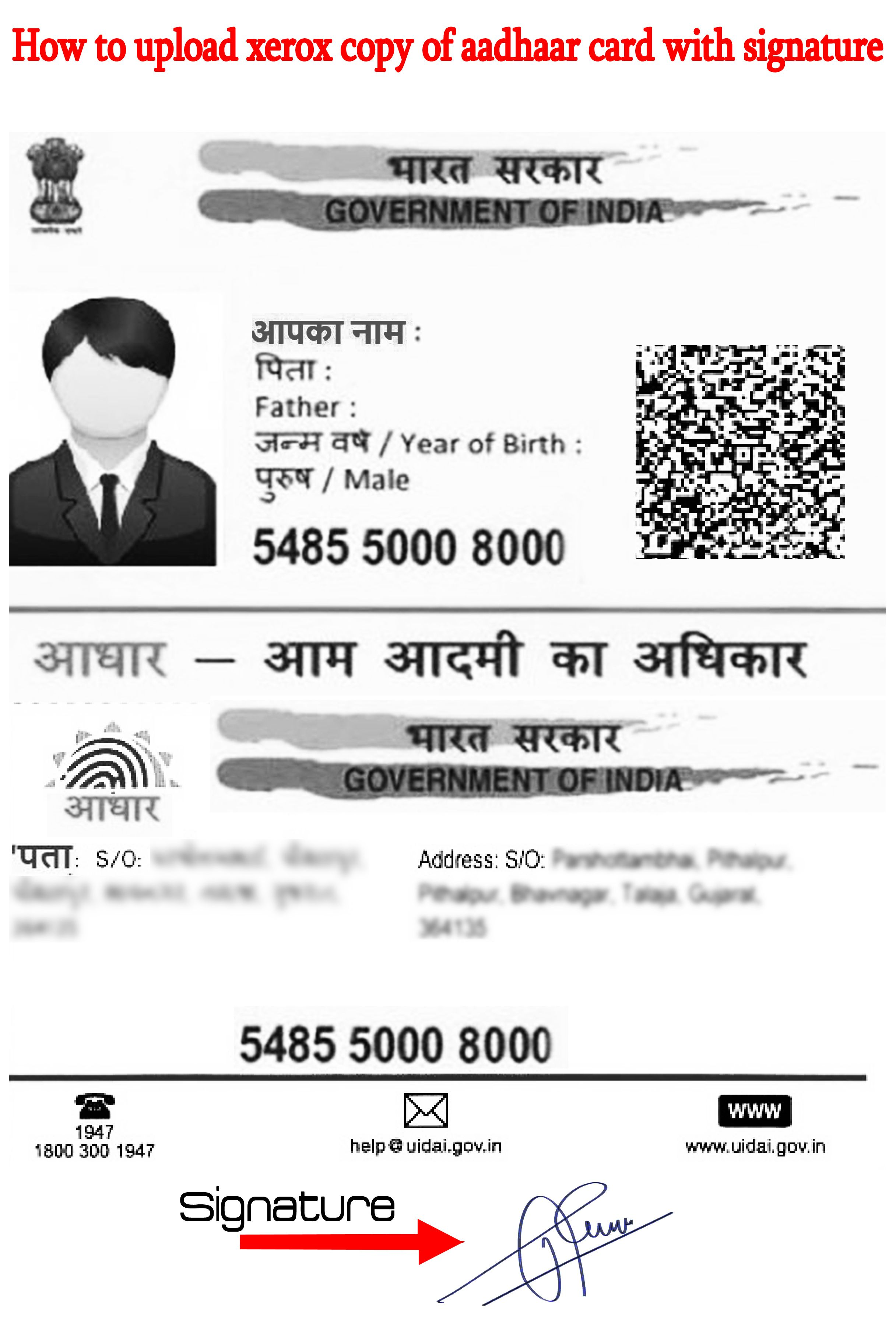 Apply For New Pancard Online All Letters Should Be In English