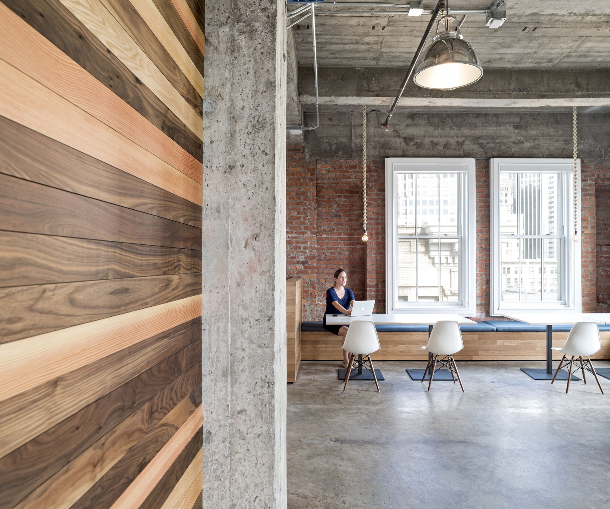 yelp office. Exposed Brick Walls \u0026 Concrete Define The New Yelp Headquarters Office E