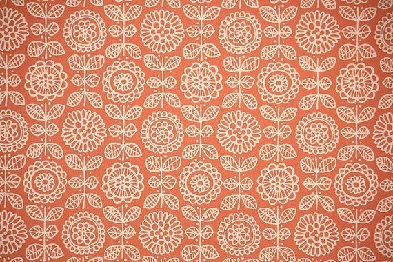 1950 S Vintage Wallpaper Floral Wallpaper White Floral And