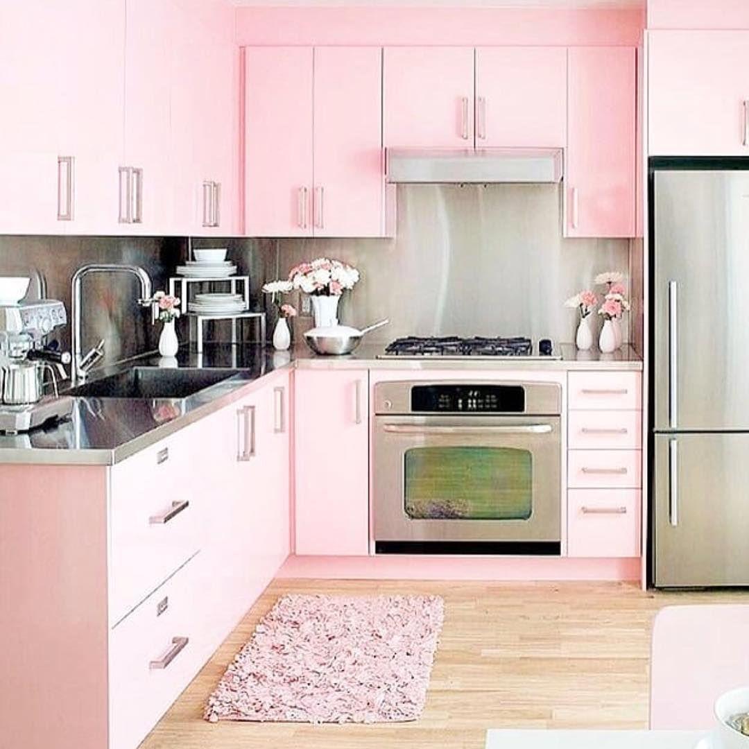 Am #ElleWoods kinda Kitchen 💗SHOP pink + gold kitchen necessities