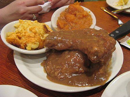 Southern smothered pork chop recipe