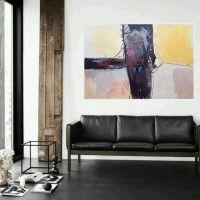 Sluzbena Stranica Slikara Ranka Ajdinovica Umjetnicke Slike Apstrakcije Sofa Design Modern Leather Sofa Interior Design