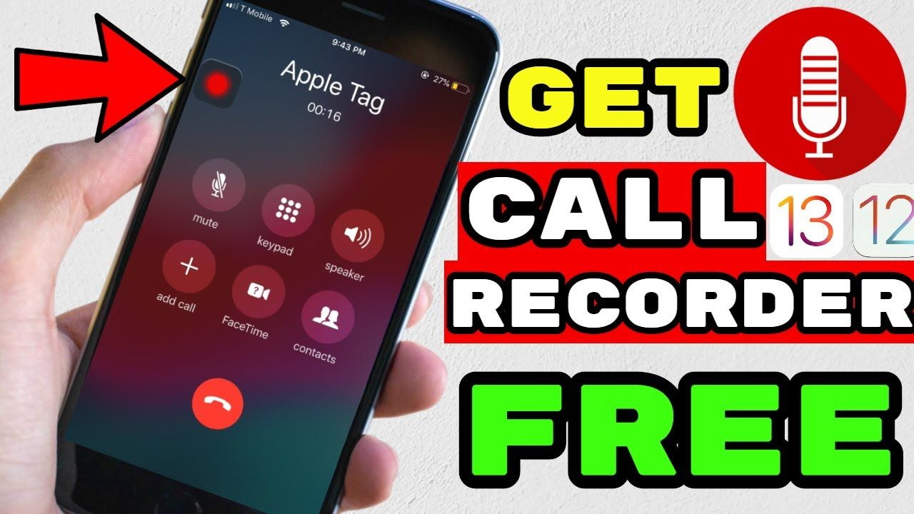 How To Get Call Recorder On iPhone iOS 13/iOS 12 Tmobile