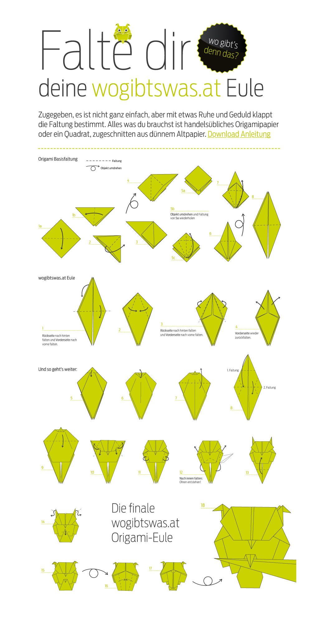 origami tiere anleitung google suche basteln. Black Bedroom Furniture Sets. Home Design Ideas