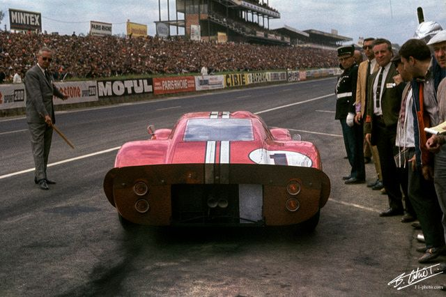 1967 La Ford Gt 40 Mk 4 De Gurney Foyt Le Mans Ford Racing