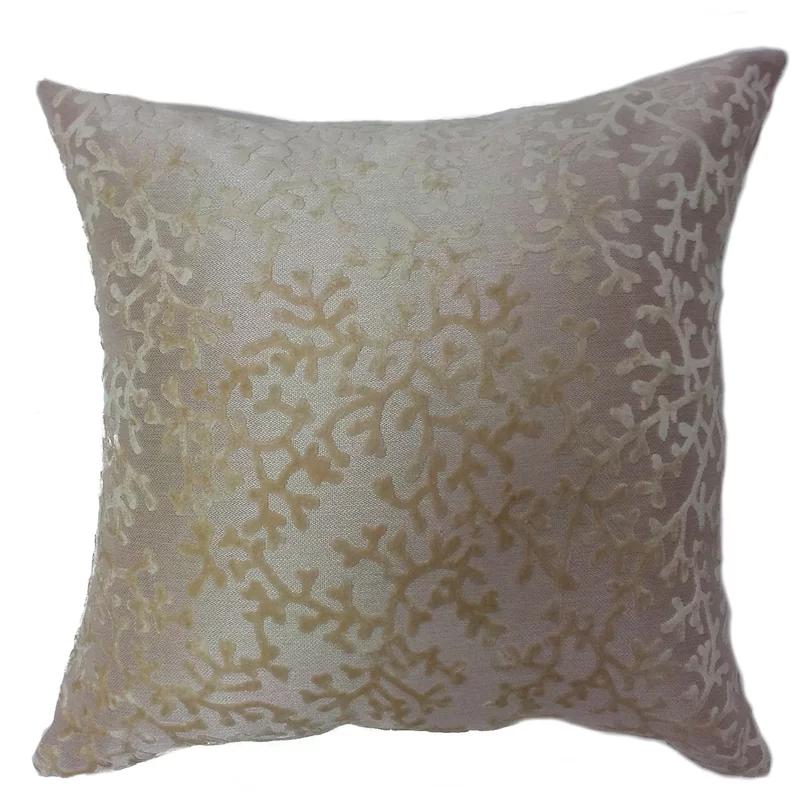 Azu Coral Throw Pillow In 2020 Coral Throw Pillows Throw Pillows Coral Throws