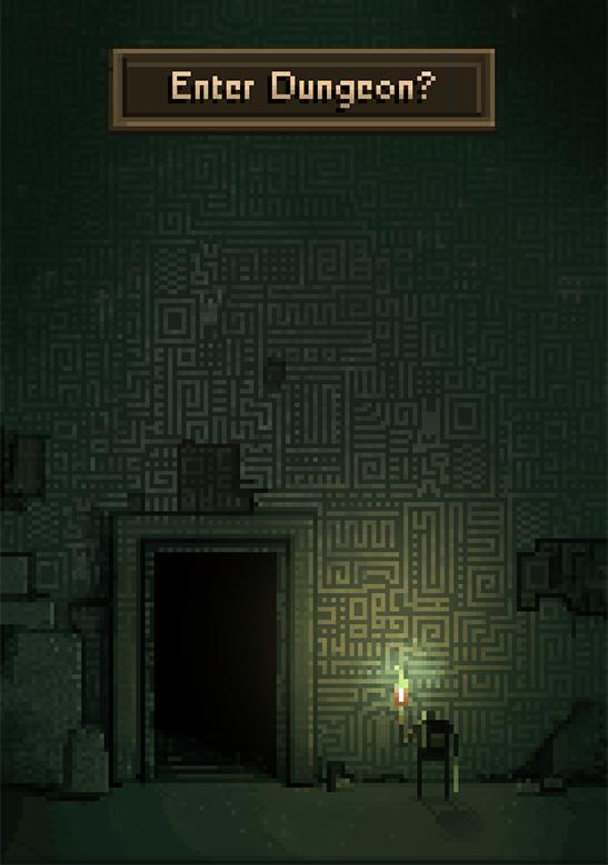 Enter Dungeon? | Pixel Art in 2019 | Pixel art, Pixel art