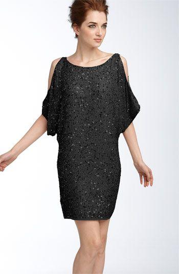 Aidan Mattox Sequin Cold Shoulder Dress | Nordstrom | Dress ...
