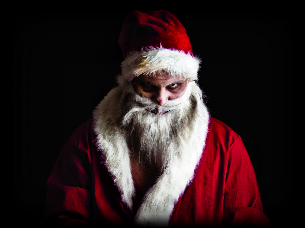 Holiday Evil Santa Christmas Characters Santa Claus Is Coming To Town Occult Symbols