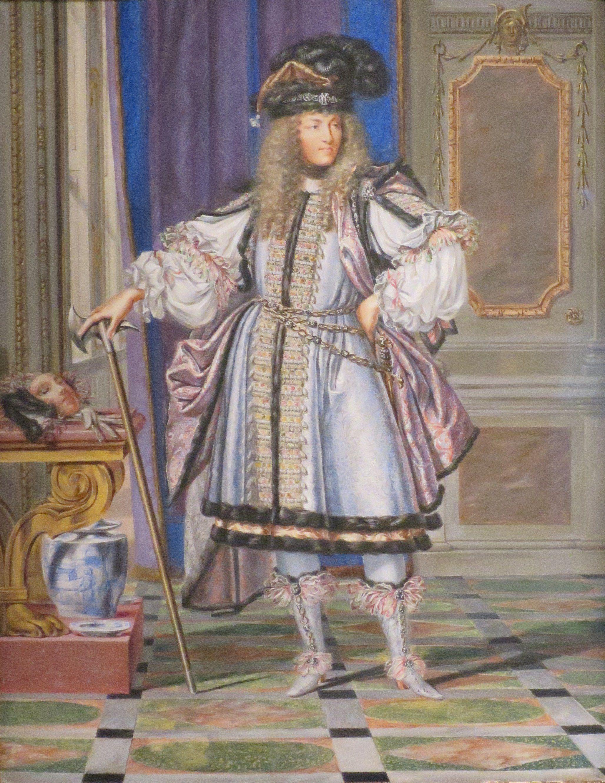 Louis XIV by Joseph Werner. 1663.
