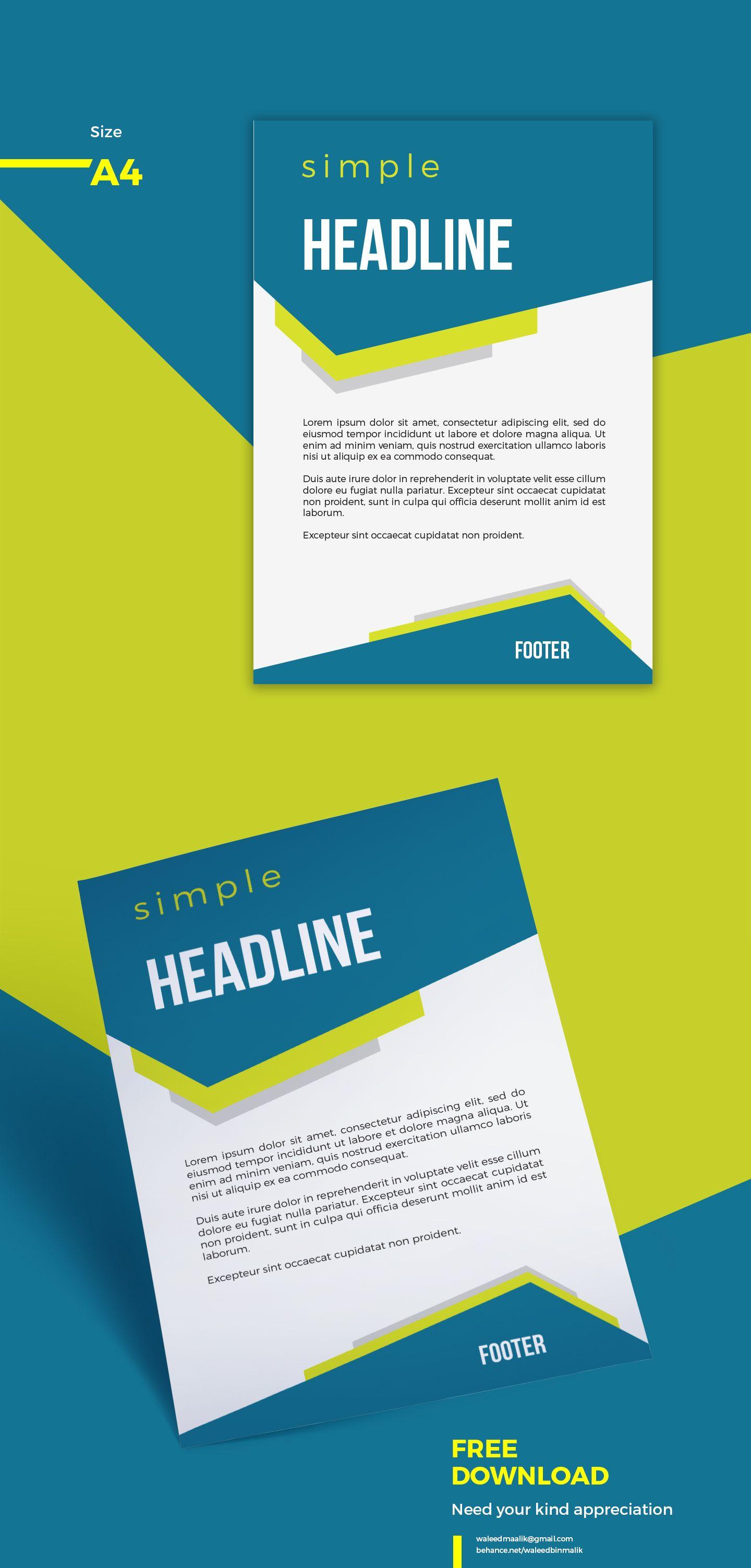 pin by waleed malik on free flyers pinterest brochure design