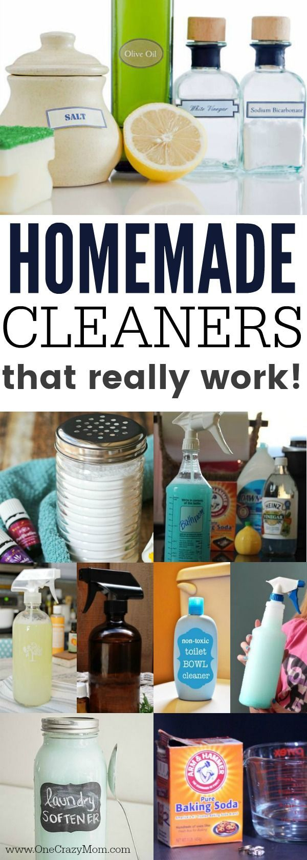 Homemade Cleaners - 20 Homemade Cleaning Products