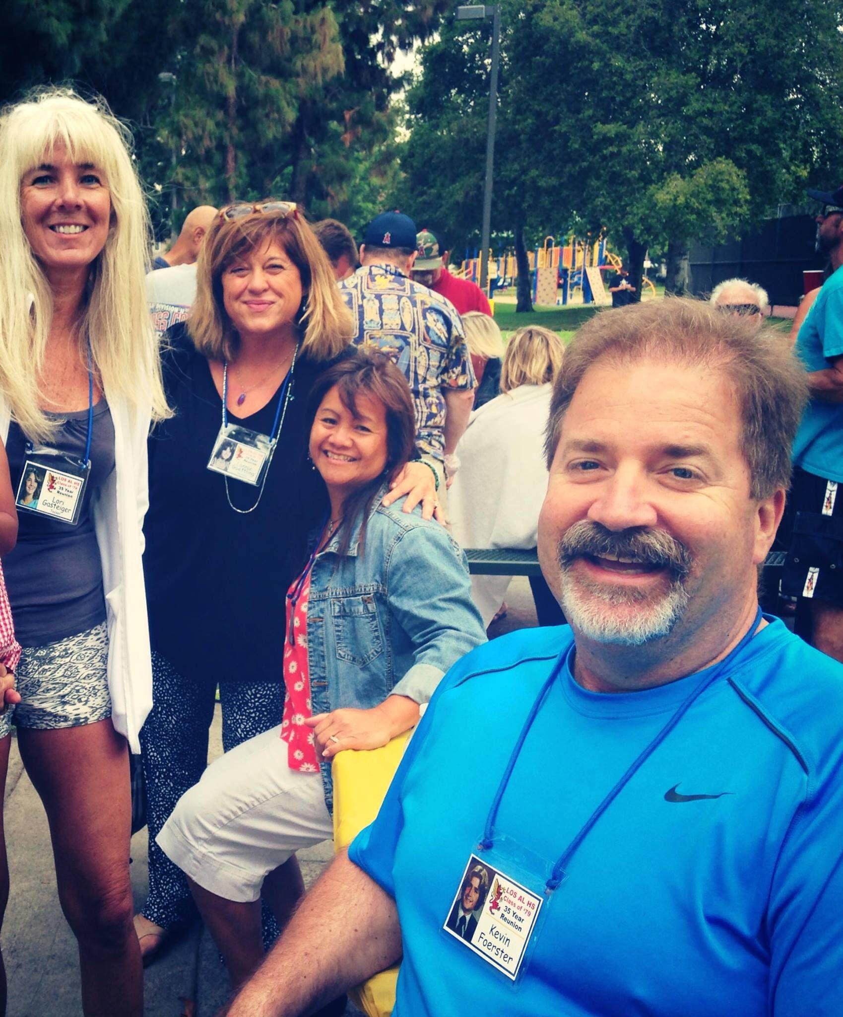 Los Al reunion picnic 7/2014 Kevin , Irene , lannie