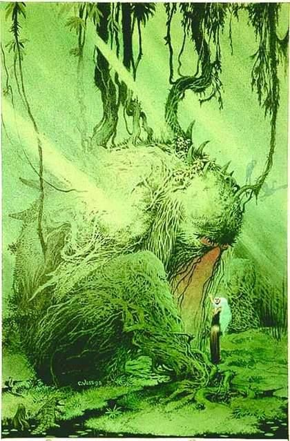 Swamp Thing by Charles Vess *