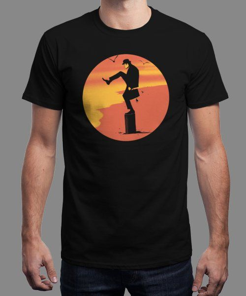 """Silly Karate"" is today's £9/€11/$12 tee for 24 hours only on Pin this for… 