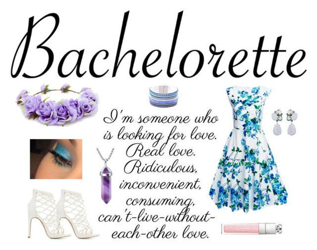"""""""Bachelorette"""" by earthkeeper ❤ liked on Polyvore featuring Forever 21 and Charlotte Russe"""