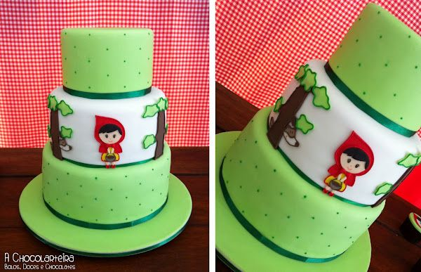 Little Red Riding Hood Cake taarten Pinterest Tartas, Cup