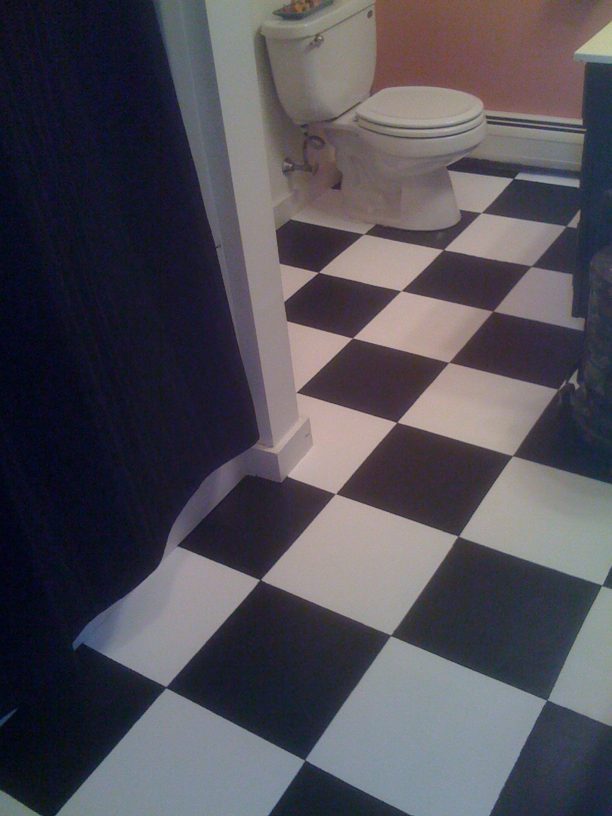 How do i remove vinyl tile flooring answer start by deciding how painting old vinyl floor tiles top 10 useful tile dailygadgetfo Choice Image