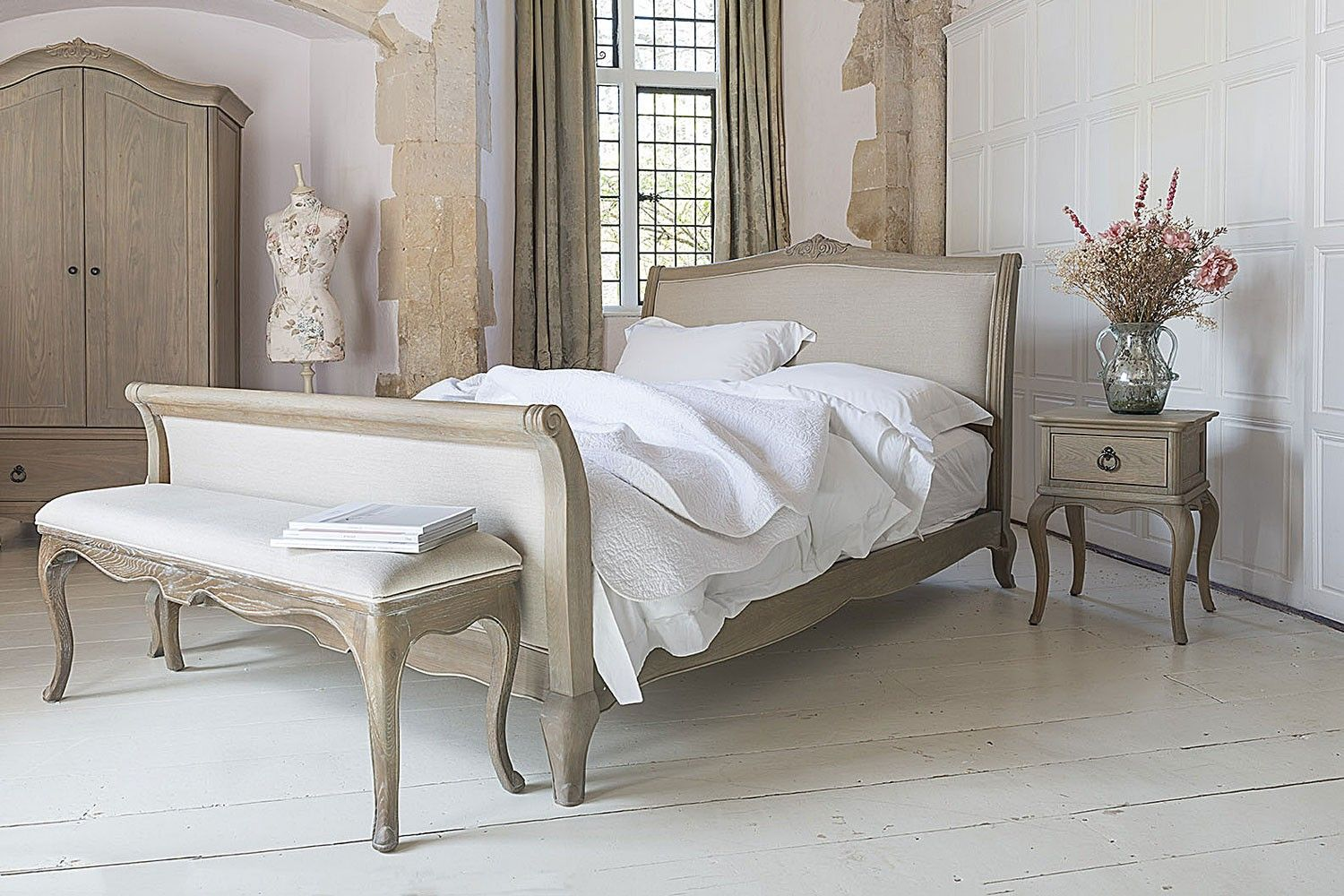 Camille French Style Upholstered Bed Crown French Furniture Bedroom Ideas Pinterest