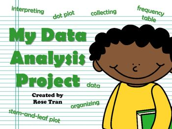 NEW My Data Analysis Project (aligned to TEKS 4.9A, 4.9B ...