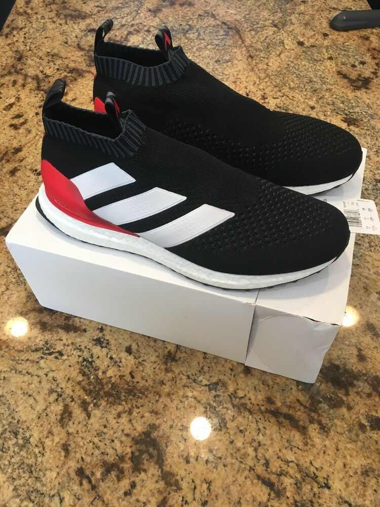 best service a0fe1 62096 Adidas Ace 16 Pure Control Ultra Boost BY9087 PREDATOR BLACK ...
