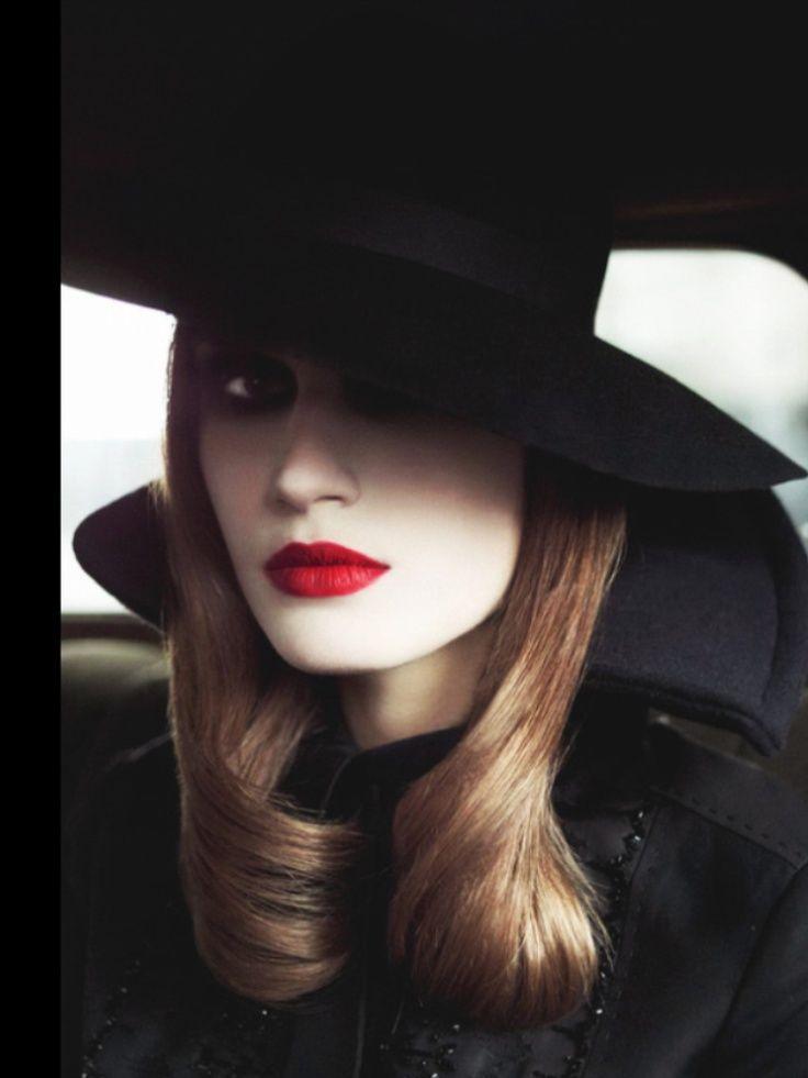 film noir | Vogue Italia 2013 | ♥ Vogue Italia