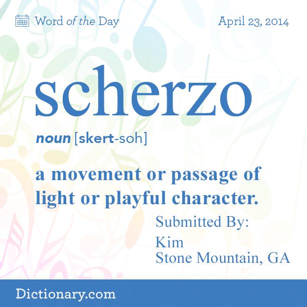 Scherzo definition