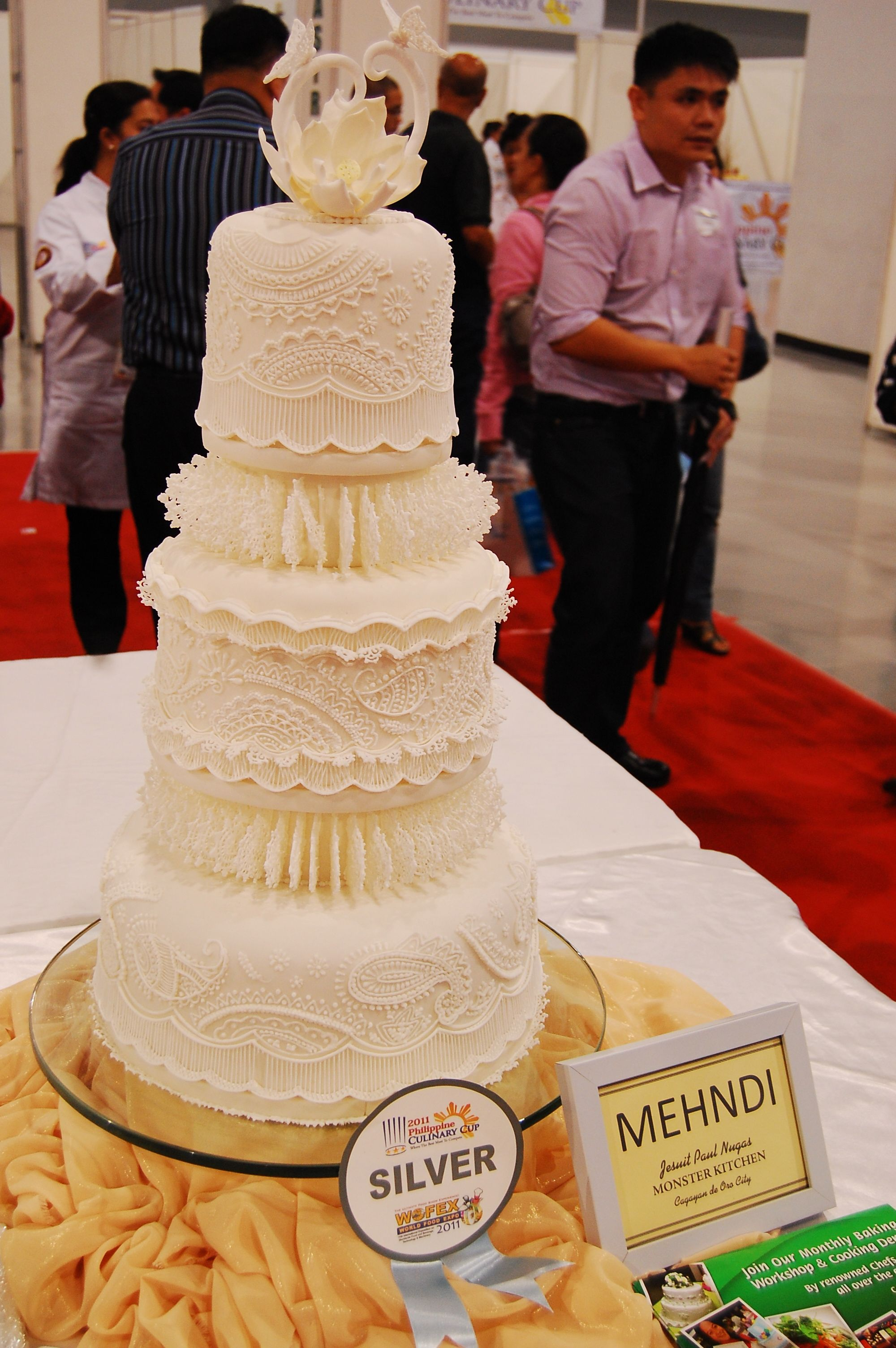 My 2011 Wedding Cake Entry For The 2011 Philippine