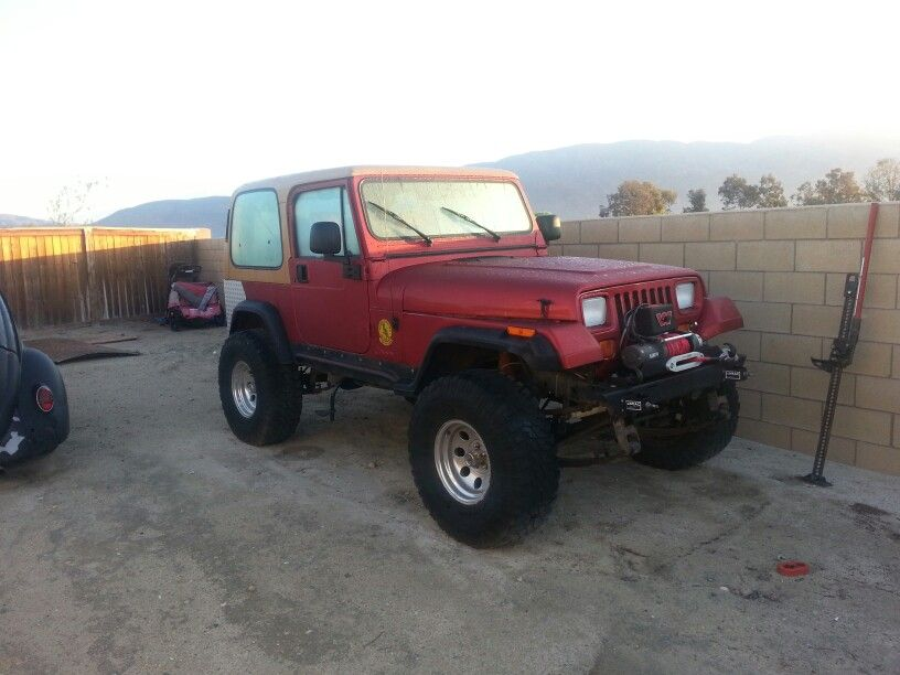 93 Yj Ford 9 Terflex Lockers 35 S And Even Has Ac Jeep