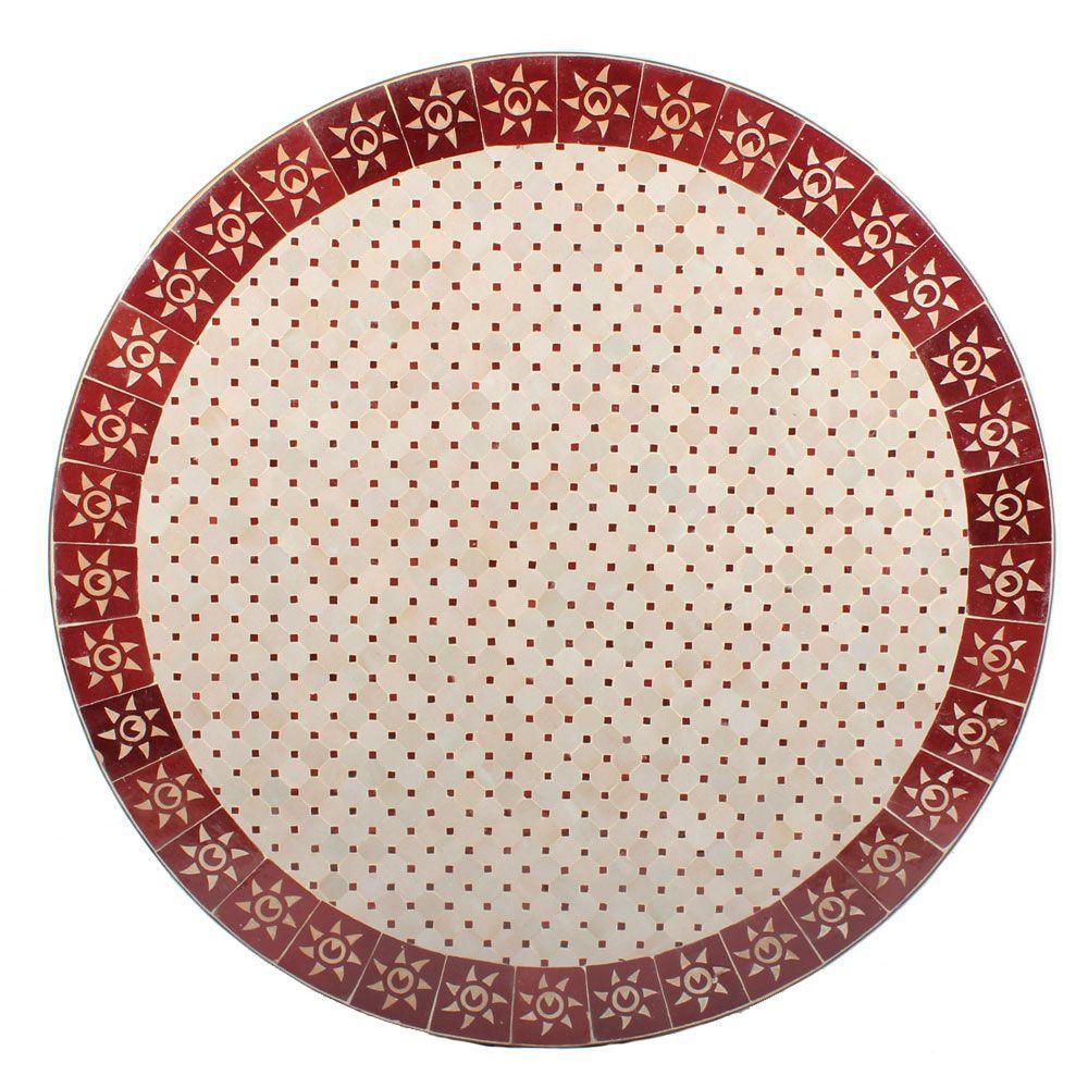 Mosaik-Tischplatte \