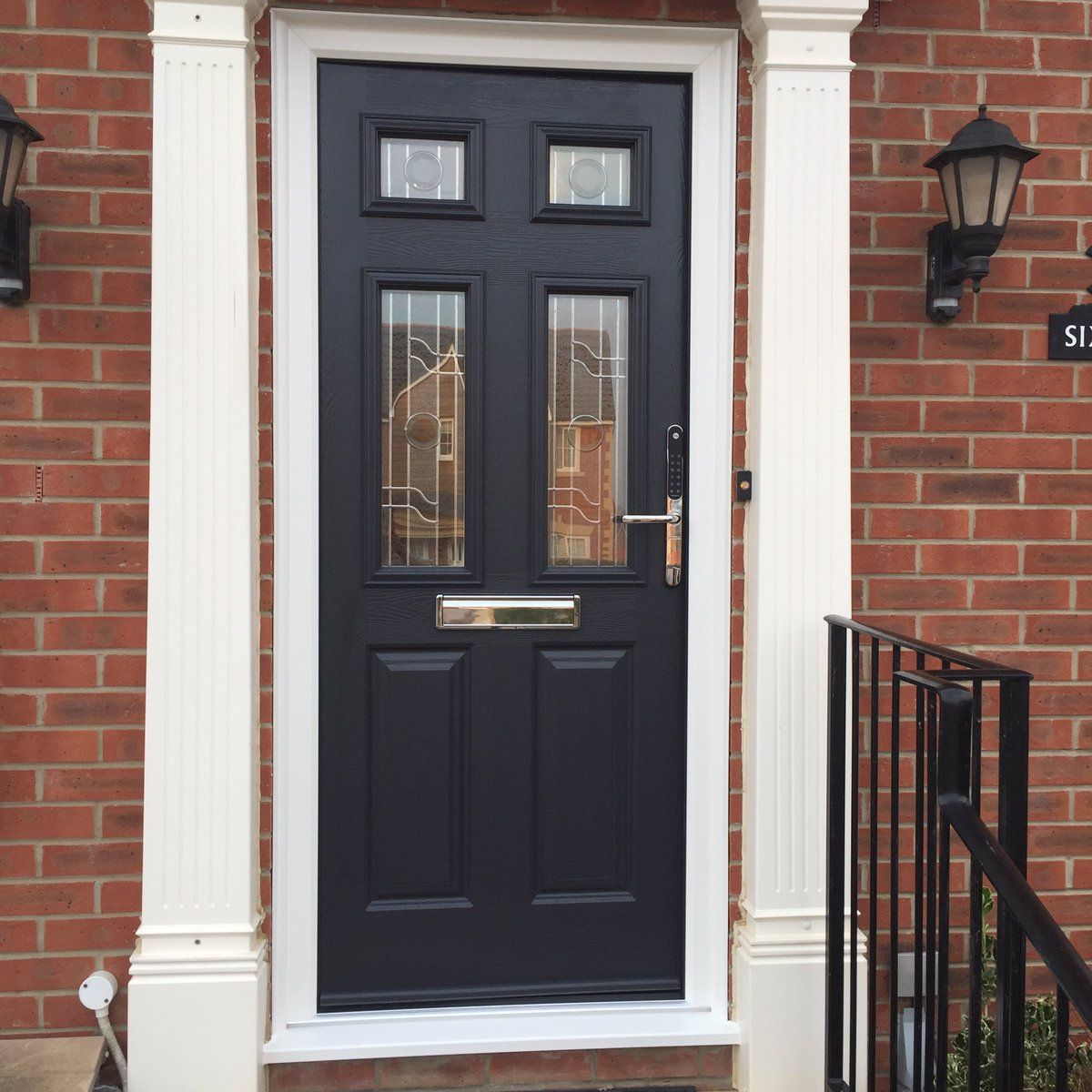 Get a list of approved composite door installers in your area. & Our classic Elbrus composite door has improved this homes aesthetic ...