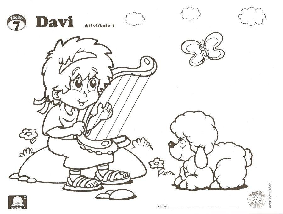 David Y Goliat Para Colorear Dibujos Cristianos Para: Peques Y Pecas Para Colorear - Buscar Con Google