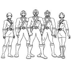 power rangers megaforce coloring pages # 2