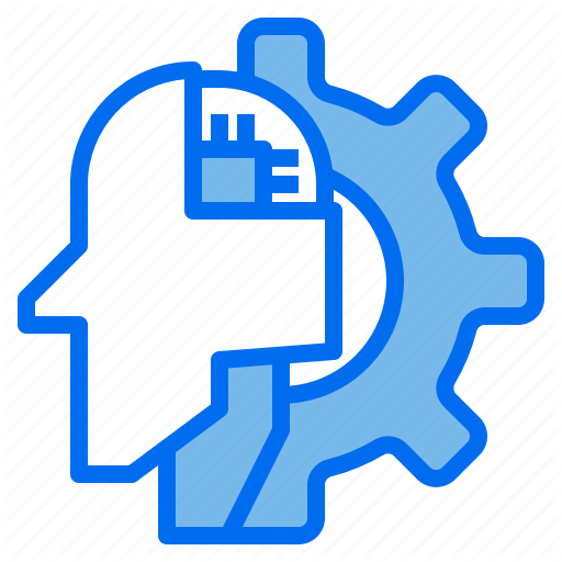 Artificial Brain Gear Intelligence Robotics Technology Icon Download On Iconfinder Technology Icon Icon Technology