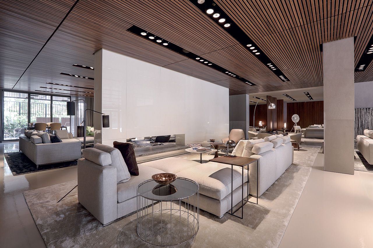 Minotti in miami home hogar miami showroom and